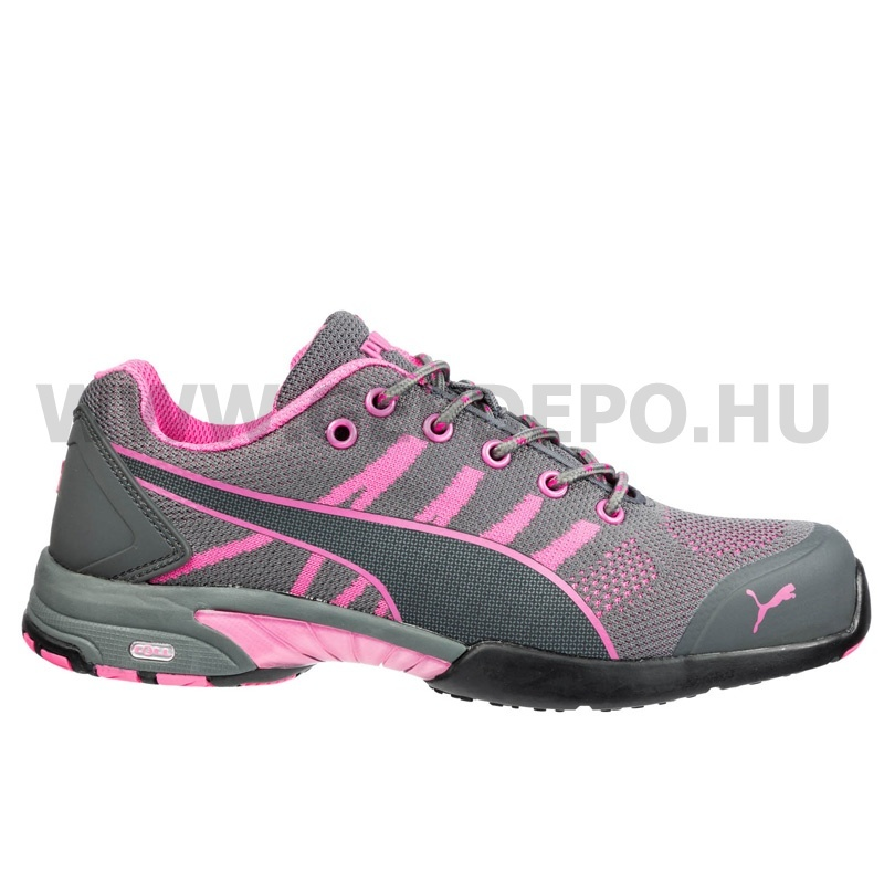 Puma munkavédelmi cipő Celerity Pink S1 35