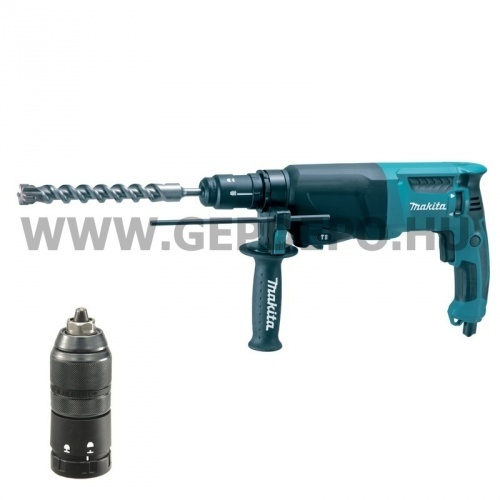 Makita HR2610T SDS-Plus fúró-vésőkalapács