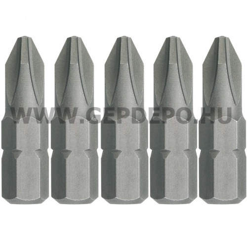 Neo standard bit PH2x25mm 5db