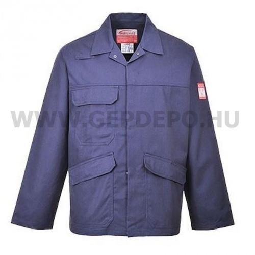 b4687b55ec Portwest FR35 - Bizflame Pro kabát, tengerészkék M